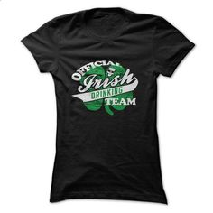 Official Irish Drinking Team T Shirt, St. Patricks Day  - #sweaters for fall #navy sweater. ORDER NOW => https://www.sunfrog.com/Funny/Official-Irish-Drinking-Team-T-Shirt-St-Patricks-Day-T-Shirt-Birthday-Gift-Ladies.html?68278