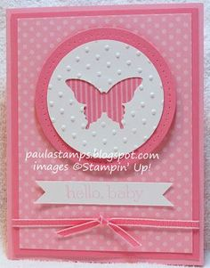 Stampin' with Paula: Goodbye Regal Rose and Pretty in Pink