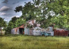 An old barn in Princeton, Texas.