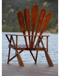 Oar chair