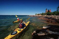 National Geographic Explorer magazine named Wisconsin's Apostle Islands one of the Ten Best National Park Destinations in America.