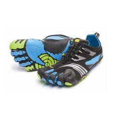 reputable site 239b4 5bda3 KMD Sport LS Mens Black Blue Green Going Barefoot, Barefoot Shoes, Vibram