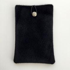 Black Fur Vegan Fabric, Ipad Case, Book Case, Ipad Mini Case, Black Ipad Case, Fur Ipad Case, Ipad Mini, Ipad Fabric Case, Ipad cover by GFMODE on Etsy