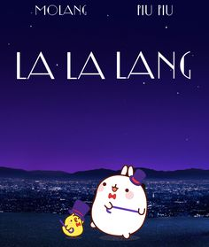 Molang and Piu Piu go to the Oscars. Hope they will win! :D