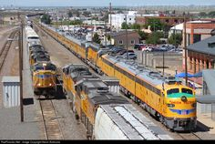 RailPictures.Net Photo: UP 951 Union Pacific EMD E9(A) at Cheyenne, Wyoming by Kevin Andrusia
