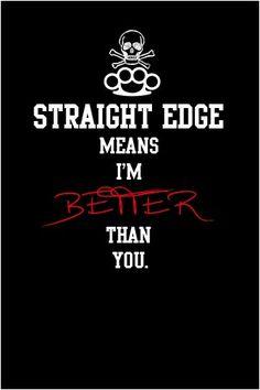 straight edge dating free
