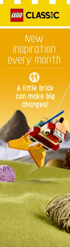Download a free set of inspiration cards to add new twists, themes, places and obstacle to your LEGO Classic builds! http://lego.build/Classic_October