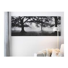 IKEA - PJÄTTERYD, Picture, Motif created by Björn Wennerwald.The picture has extra depth and life because it's printed on high quality canvas.The picture stands out from the wall in an attractive way because it continues around the edges of the canvas.