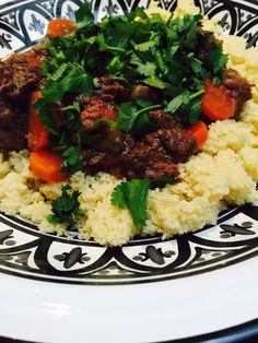 Zoete Marokkaanse stoofschotel het recept staat nu op foodblog Foodinista