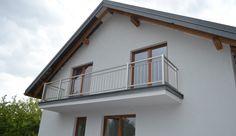 Balustrada zewn�trzna, stal nierdzewna szczotkowana � Natolin