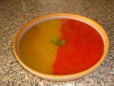 Duo pepper soup