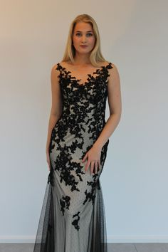 Lace dress black/gold can also come in ivory from By Kris of Norway Lace Dress Black, Black Gold, Ivory, Formal, Dresses, Style, Fashion, Preppy, Vestidos