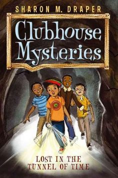 In Lost in the Tunnel of Time, the boys discover their hometown was a stop on the Underground Railroad and are excited to explore the part of the tunnel that is right under their school. When a trapdo