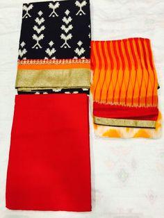 Fancy Cotton Dress Material. To buy pls whatsapp on 9425004989