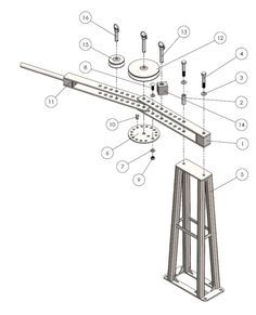 Follow this guide to build your own tubing bender stand for our bender or yours.