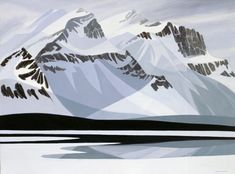 Available artwork by Canadian painter Doris McCarthy, who created an impressive body of work during her 100 years, and was inducted into both the Order of Ontario and the Order of Canada. Canadian Painters, Canadian Artists, Order Of Canada, Mountain Images, Impressionist Art, Dory, Painting & Drawing, Printmaking, Oil On Canvas