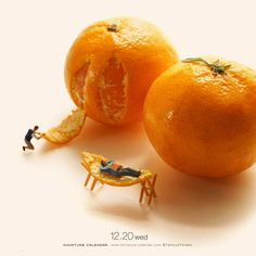 Orange you relaxed