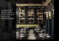 I like the font and dark colors of the website. Easy Bistro & Bar - Chattanooga, TN Seafood & Fine Dining