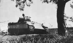 """Panzer V """"Panther"""" of the 5. SS Panzer Division Wiking, Poland, May 1944."""