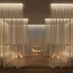 Yabu Pushelberg, The Miami Beach Edition, Spa Relaxation Room luxury boutique hotel Spa Design, Spa Interior Design, Salon Design, Design Ppt, Design Ideas, Bath Design, Deco Spa, Miami Beach Edition, Spa Treatment Room