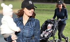 Tamara Ecclestone looks svelte in gym gear on day out with Sophia #DailyMail