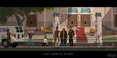 Artist Gustavo Viselner Makes Pixel Art Game Scenes Based On Popular TV Series And Movies – Design You Trust