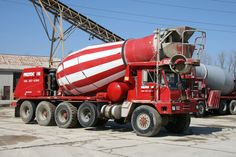 OshKosh Mixer Truck