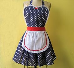 LoverDoversClothing: 4th of JULY RETRO APRON