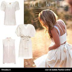 What to wear: Als je moet werken met warm weer  All White bij Vimodos! http://www.vmds.nl/n0