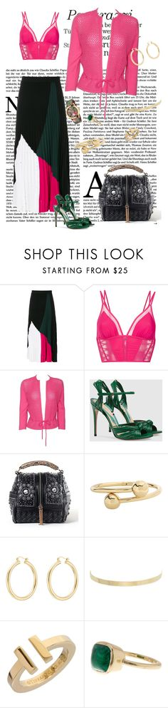 """""""Shining today"""" by roula-gedeon ❤ liked on Polyvore featuring Proenza Schouler, Giuliana Romanno, Gucci, J.W. Anderson, Isabel Marant, Kenneth Jay Lane, Tiffany & Co. and Cole Haan"""