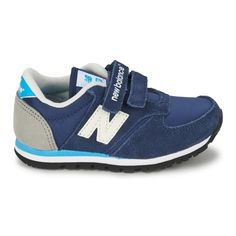 Navy//Red New Balance 574 Classic A//C Kids Shoe