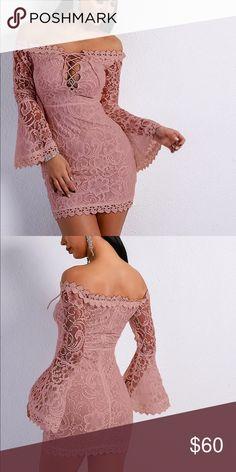 16630406142 Lace Crochet Off Shoulder Mini Dress Sexy!! Sexy!! Lace Crochet Mini Dress