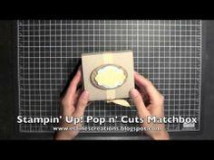 ▶ Stampin' Up! Pop n' Cuts Matchbox - YouTube