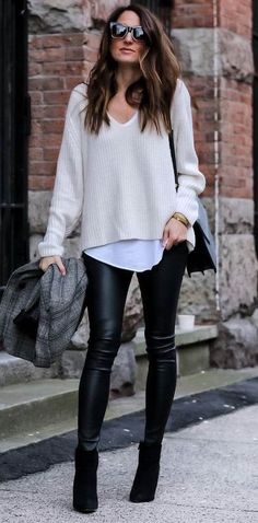 fall casual style addict