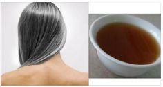 If you want to hide your white hair and color it in a healthy and natural way, try this black tea infusion! Black tea against canitie. Hair Turning White, Reverse Hair Loss, Tea Powder, Make Beauty, Auburn Hair, Grow Hair, White Hair, Black Hair, Facial Hair
