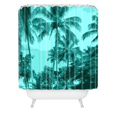 Deb Haugen Aloha Morning Shower Curtain | DENY Designs Home Accessories