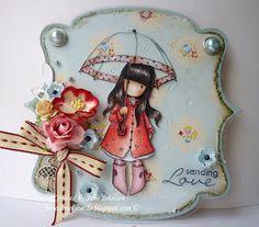 5/29/2011; Jane at 'Jane's Lovely Cards' blog; Gorjuss Girls