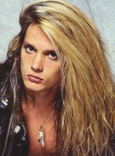 Sebastian Bach... back in the day.
