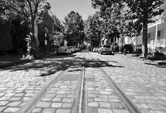 The O and P Streets Project in Georgetown included restoring historic cobblestones and streetcar tracks. Now it's almost done: http://www.thegeorgetowndish.com/thedish/o-p-streets-construction-nearly-done#