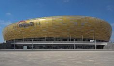 The Stadion Energa Gdańsk, previously called the Baltic Arena and PGE Arena Gdańsk, is a football stadium in Gdańsk, Poland. It is used mostly for football m... Get more information about the Stadion Energa Gdańsk on Hostelman.com #attraction #Poland #landmark #travel #destinations #tips #packing #ideas #budget #trips