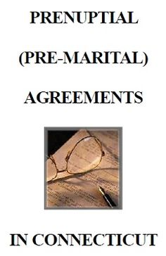 "Download our complimentary brochure  ""Prenuptial (Pre-Marital) Agreements in Connecticut""  http://www.ireneolszewski.com/Prenuptial%20Agreements_Brochure.pdf"