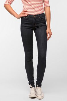 #UrbanOutfitters          #Women #Bottoms           #sits #bdg #high-rise #stretchy #5-pocket #cigarette #indigo #ankle #available #thigh #hip #skinny #jean #jeans #leg #zip #slim #super #high                BDG Cigarette High-Rise Jean - Indigo               Overview:* Stretchy cigarette jeans that fit like a legging* Super skinny through the stretchy leg with a high rise* Sits just below navel, fitted through hip & thigh with a slim leg* 5-pocket styling* High rise* Zip fly* Available in…