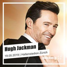 «The Man. The Music. The Show» – Hugh Jackman kommt nach Zürich 😱😍.  Der sympathische Australier spielt mit Live-Orchester im Gepäck am 19. Mai 2019 im Hallenstadion Zürich. Auch mit dabei: Hits aus Kinofilmen wie «The Greatest Showman», «Lés Miserables» und vielen weiteren Broadway-Klassikern!  Tickets gibt's für Live Club Member ab dem 6. Dezember um 8 Uhr und für alle anderen ab Freitag, 7. Dezember, um 9 Uhr. The Greatest Showman, Les Miserables, Hugh Jackman, Kino Film, Mai, Musicals, Broadway, Movies, Movie Posters
