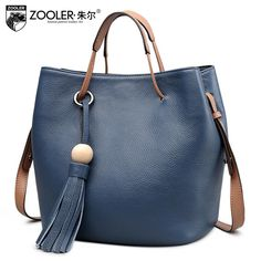 5b5aa90fd0 ZOOLER Women bag New Superior cowhide leather Casual Bucket bag Genuine  Leather Tote women handbags shoulder bag