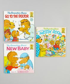 Take a look at this Berenstain Bears Messy Room Paperback Set on zulily today!