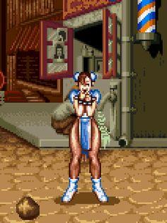 Chun-Li, Super Street Fighter II.