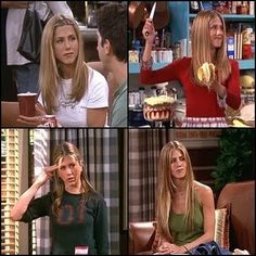 Friends TV Show Rachel Green..named my daughter after her character