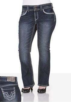 Trademark H® Iconic Slim Boot Jeans - maurices.com | jeans ...