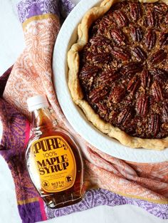 Move Over Pumpkin Pie, Maple Bourbon Pecan Pie Is The New Thanksgiving Favorite Pecan Desserts, Pecan Recipes, Pastry Recipes, Tart Recipes, Pie Dessert, Dessert Recipes, Chocolate Bourbon Pecan Pie, Pecan Pie With Bourbon Recipe, Thanksgiving Desserts