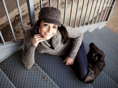 Great use of stairs    Riley Senior 2012 by Spanier Photography, via Flickr